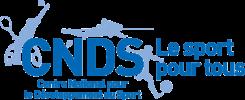 Logo centre national pour le développement du sport